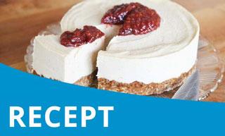 Vegan Challenge – Feestelijke veganistische Cheesecake