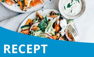 Recept: De gezonde vegetarische kapsalon!
