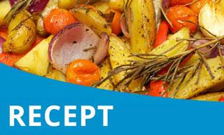 VeganChallenge – Herfst ratatouille met pompoen, paprika en ui